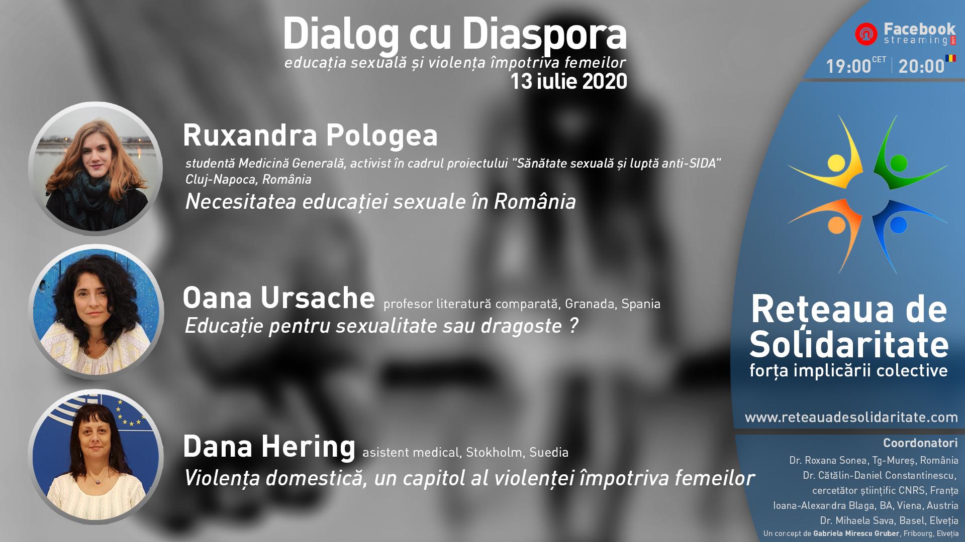 Intalnirea femeii pentru dialog