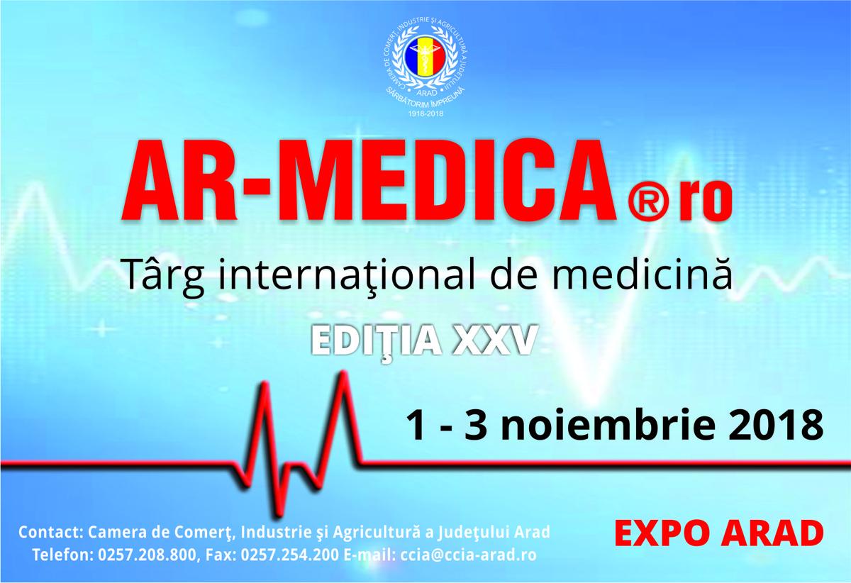Peste 100 de firme prezintă produse şi servicii medicale de ultimă generaţie la Târgul AR-MEDICA de la Arad
