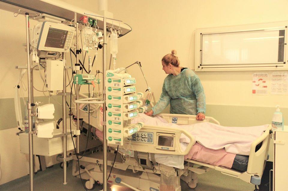 La Galaţi, doar o treime din paturile ATI destinate bolnavilor COVID-19 în stare critică sunt ocupate