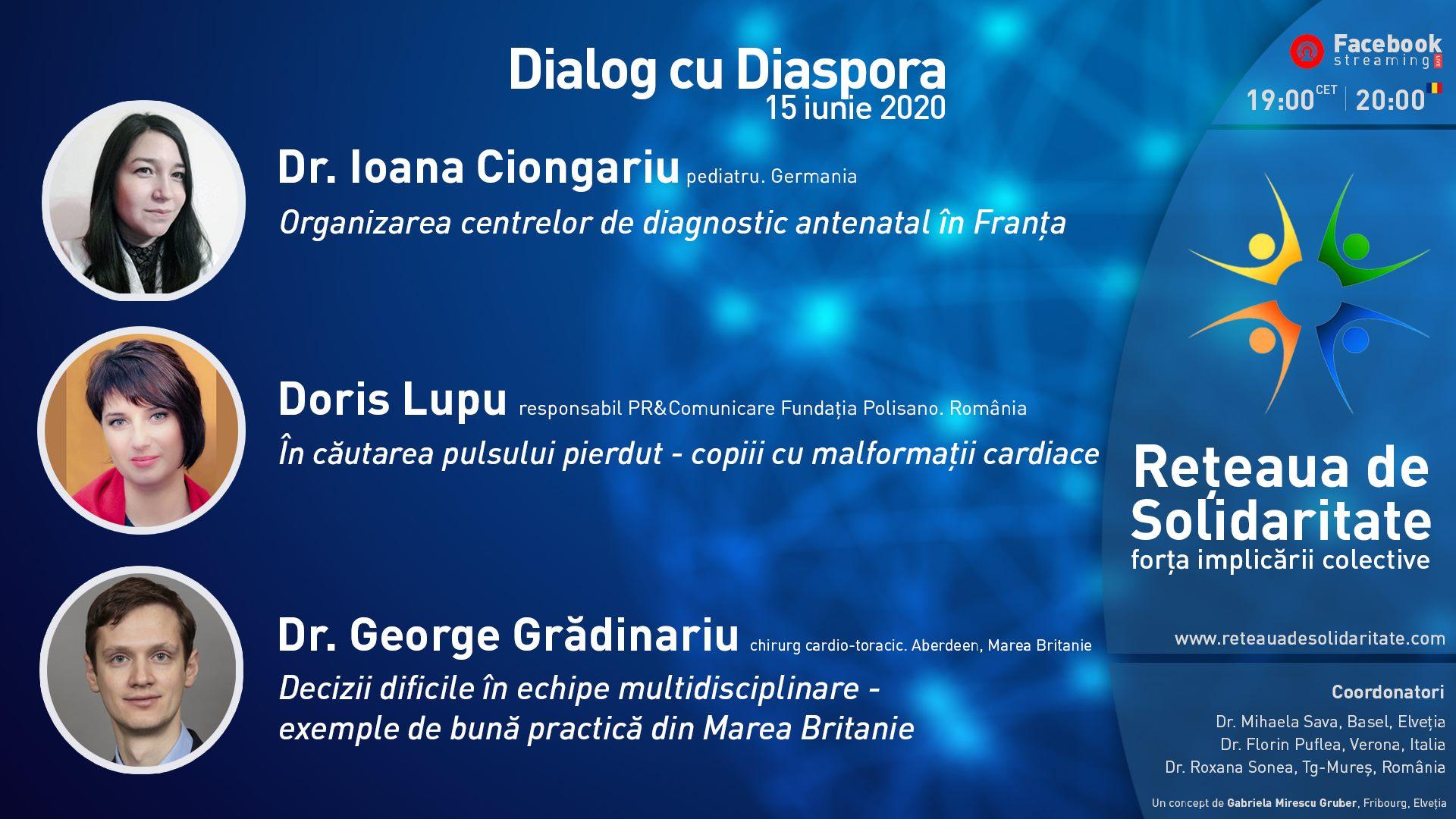Teme incitante în Dialogul cu Diaspora de pe 15 iunie