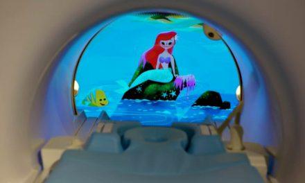 Aparatele de imagistică, adaptate pentru copii cu ajutorul desenelor animate