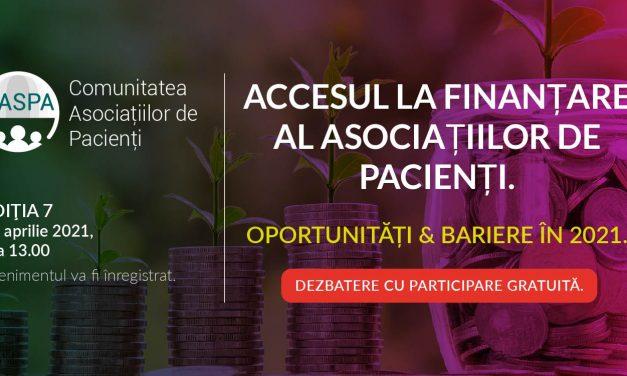 Caspa.ro – Comunitatea Asociațiilor de Pacienți se întâlnește digital pe 27 aprilie 2021