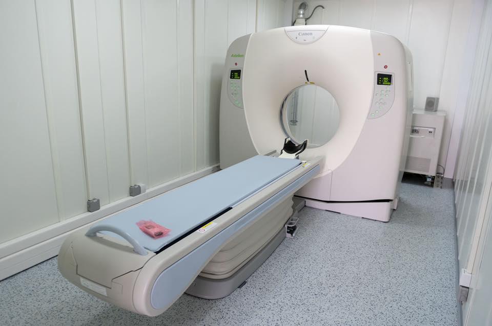 """Spitalul """"Victor Babeş"""" din București are cel mai modern computer tomograf pentru detectarea noului coronavirus"""