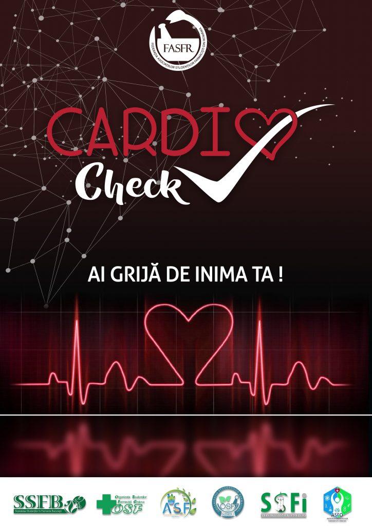 """Campania """"CardioCheck"""" are loc între 9 şi 15 martie"""