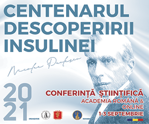 """Conferința științifică """"Centenarul Descoperirii Insulinei"""": 1-3 septembrie"""
