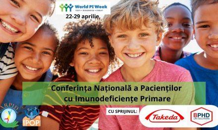 ARPID organizează Conferința Națională a Pacienților cu Imunodeficiențe Primare