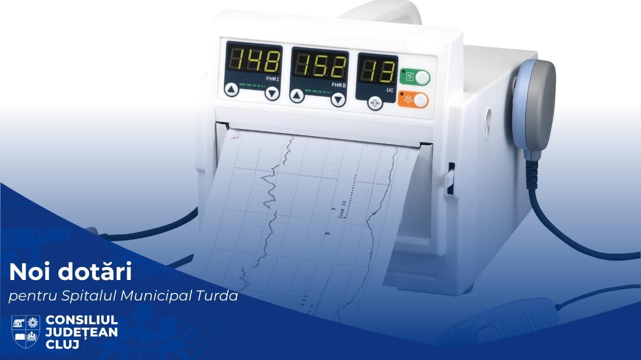 Noi echipamente medicale pentru Spitalul Municipal Turda
