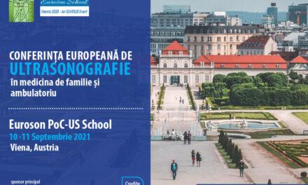 Au început înscrierile pentru Conferința Europeană de Ultrasonografie 2021 – Euroson PoCUS School Vienna