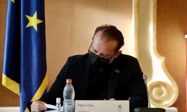 Florin Cîţu: Cât mai repede să revenim la 1.600 de paturi la ATI