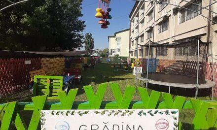 O grădină senzorială pentru copiii cu autism – inaugurată într-un centru al DGASPC Vrancea
