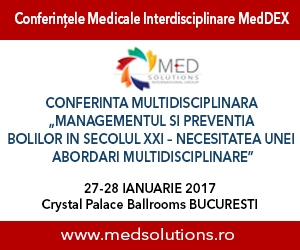Prima Conferință Națională Multidisciplinară MedDEX are loc pe 27-28 ianuarie, în București