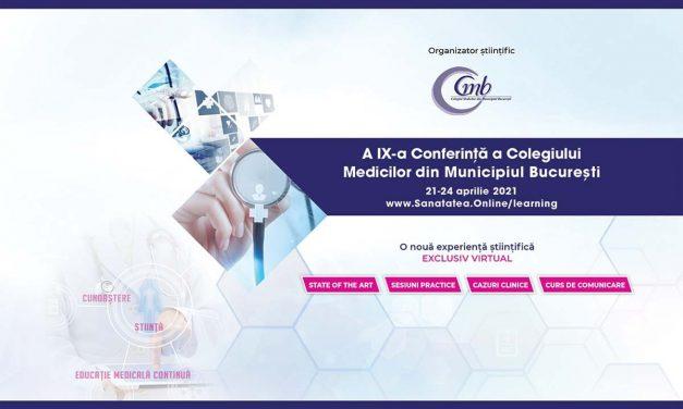 Conferinţa CMMB 2021: se dezbat soluţii la problemele din medicina primară
