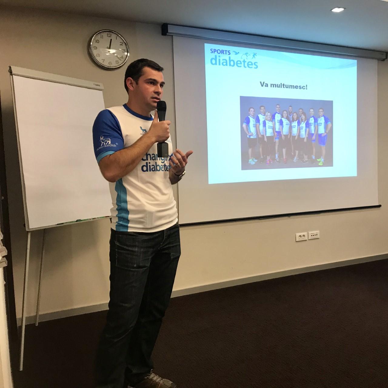 Dr. Mihai Comşa (Asociația Sports & Diabetes): Restricțiile de deplasare duc în multe cazuri la reducerea activității fizice, cu un efect de creștere a glicemiilor și creșterea aportului caloric zilnic