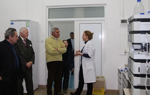 Prof. univ. dr. Patrizio Rigatti, specialist în urologie şi chirurgie generală, a vizitat Institutul de Ştiinţe ale Vieţii din cadrul UVVG Arad