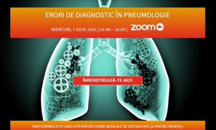 Prima întalnire a Comunității OSC – Pneumologie: Erori de diagnostic