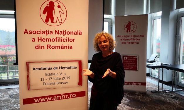 Psiholog Ioana Lepădatu: Cum pot pacienții cu hemofilie să treacă peste impactul sângerărilor