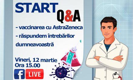 Specialişti CNCAV: Nu sunt motive de întrerupere a vaccinării cu AstraZeneca