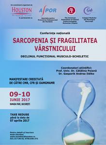 """Noutăți vizând fragilitatea, pierderea de masă osoasă şi musculară vor fi dezbătute la Conferința """"Sarcopenia și fragilitatea vârstnicului – Declinul funcțional musculo-scheletic"""""""