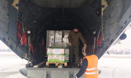 Aproximativ 250.000 de seringi şi 100.000 de ace au fost aduse din Qatar cu o aeronavă a Forţelor Aeriene Române