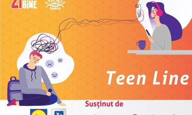 Teen Line, un proiect de sănătate emoțională pentru adolescenții români