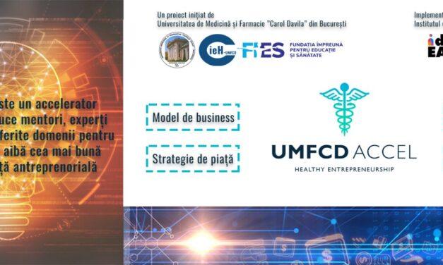 Programul de accelerare digitală UMFCD Accel a ajuns la etapa finală