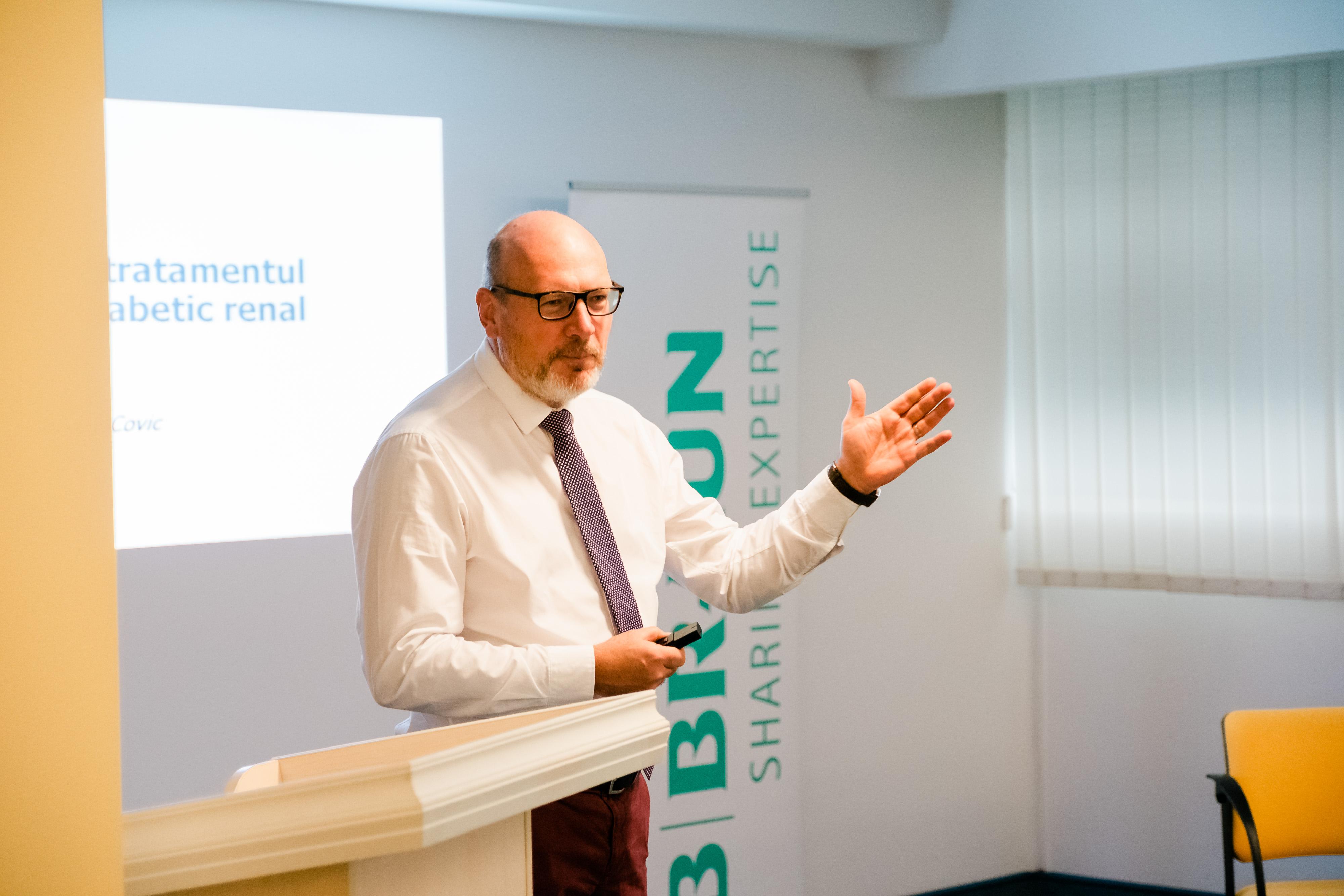 Prof. Dr. Adrian Covic: Medicina bazată pe dovezi și metodologia au un rol fundamental în analiza riguroasă a datelor și oferirea de răspunsuri concrete privind strategii terapeutice