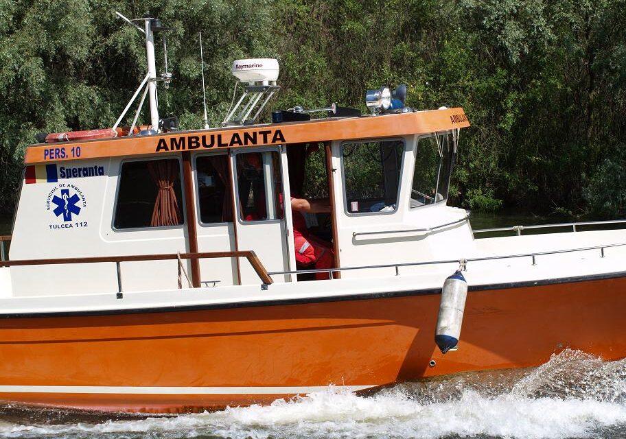 Serviciul de Ambulanţă Tulcea reia achiziţia de şalupe pentru Deltă