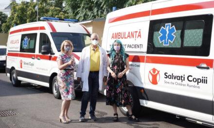 """Două ambulanțe noi au intrat în posesia Spitalului """"Grigore Alexandrescu"""""""