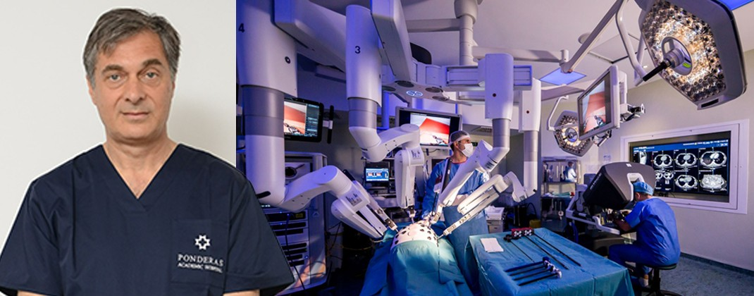 Un pionier al chirurgiei oncologice urologice robotice din Israel se alătură echipei Ponderas Academic Hospital