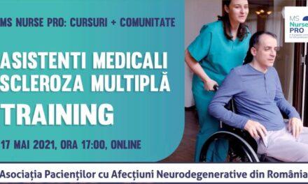 APAN organizează o sesiune de training pentru asistenții medicali implicați în îngrijirea sclerozei multiple