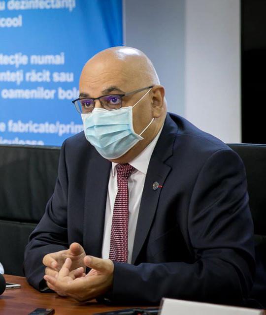 Arafat: Modul în care s-a comunicat în pandemie a pus munca personalului medical sub o presiune maximă