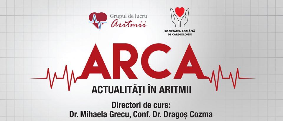 Curs ARCA – Actualități în aritmii: 13 martie, Suceava