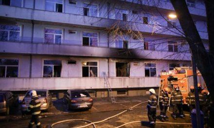"""Încă un pacient aflat în pavilionul afectat de incendiu la Institutul """"Matei Balş"""" a murit"""