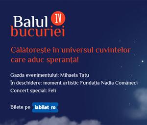Balul Bucuriei – ocazia de a participa la singura gala caritabila dedicata copiilor si tinerilor cu autism din sudul Romaniei