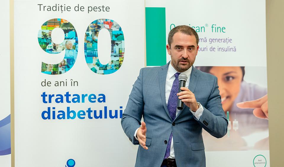Conf. Dr. Bogdan Timar: Intervenția precoce în tratamentul diabetului zaharat tip 2 are o importanță deosebită, deoarece poate opri sau încetini semnificativ evoluția afecțiunii