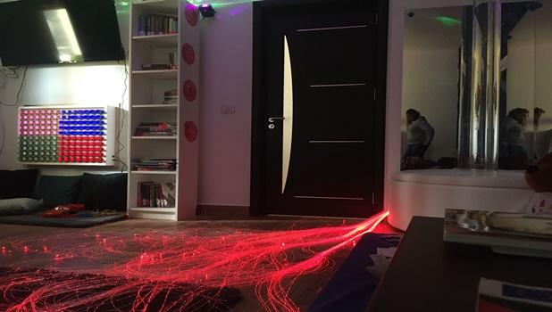Cameră senzorială pentru copiii cu autism şi afecţiuni oncologice, înfiinţată la Iaşi cu ajutorul Asociaţiei Magic