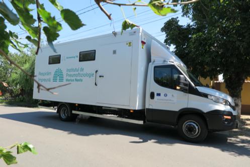 Caravana Screening Tb ajunge în Delta Dunării
