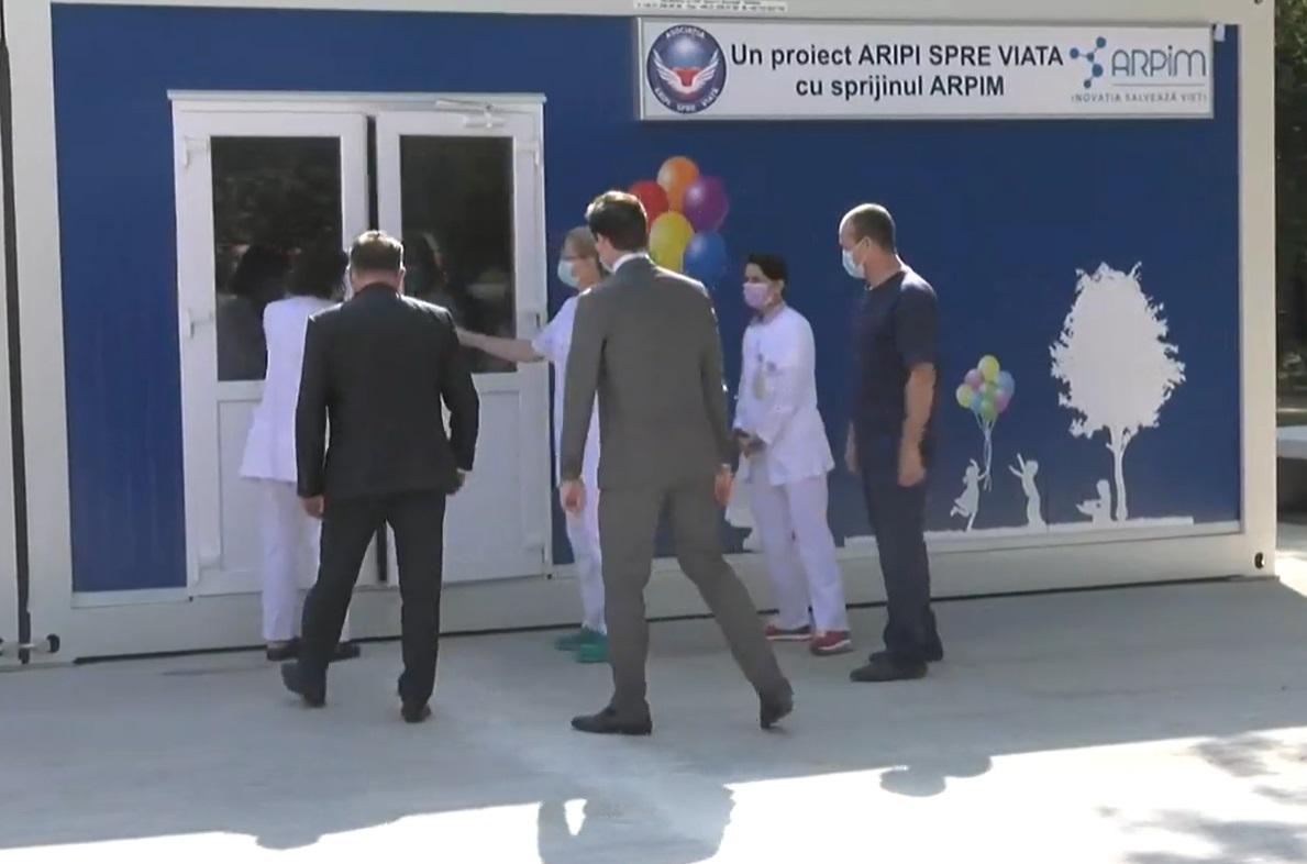 Nelu Tătaru, despre centrul modular pentru copii cu boli grave de la Fundeni: Un proiect pe care vrem să îl dezvoltăm