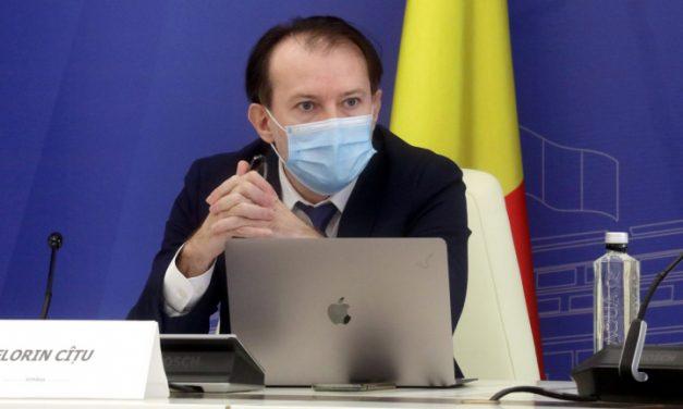Florin Cîţu: Ordinul privind stabilirea de noi reguli pentru carantinare nu a trecut prin CNSU şi nu putea fi publicat