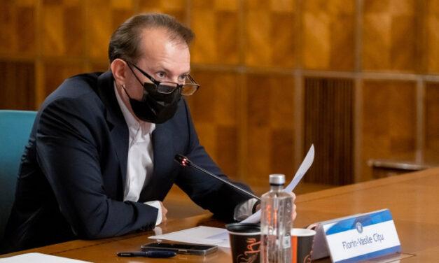 Florin Cîţu: Am semnat un proiect de lege privind testarea pe bani proprii a angajaţilor din sistemul de sănătate nevaccinaţi
