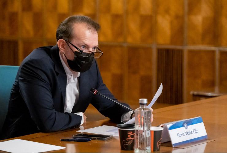Florin Cîţu: Obligativitatea certificatului digital pentru personalul medical va fi aprobată în  Guvern, probabil, săptămâna viitoare