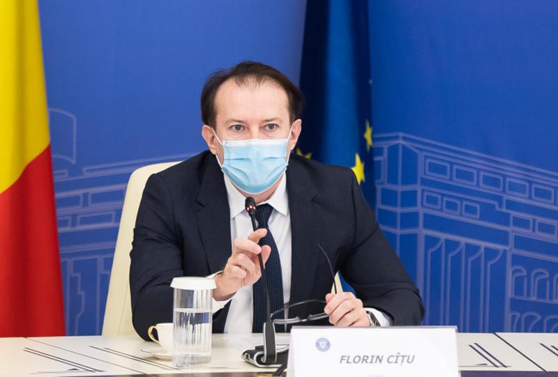 Florin Cîţu: Se vor construi trei centre de mari arşi – la Bucureşti, Timişoara şi Târgu Mureş