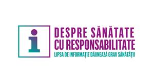 """""""Despre sănătate, cu responsabilitate"""" – campanie educațională despre consumul de medicamente fără prescripție medicală, suplimente alimentare și dispozitive medicale pentru îngrijire personală"""