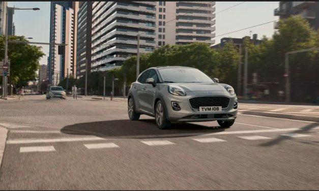 Modelul Ford Puma echipat cu motorul de 1.0 l EcoBoost Hybrid este acum disponibil în varianta cu transmisie automată în 7 trepte