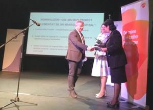 Spitalul Militar de Urgență Cluj, Institutul Clinic Fundeni şi Spitalul Militar București se numără printre laureaţii Premiilor COPAC 2017