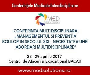 Conferința Națională Multidisciplinară MedDEX ajunge pe 28 și 29 aprilie la Bacău