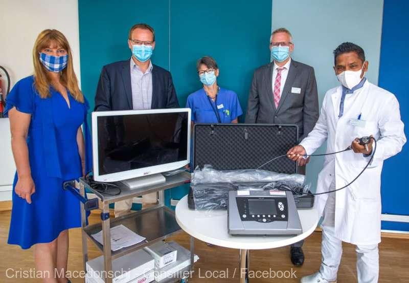 Echipă de medici din Germania, prezentă la Braşov pentru un schimb de experienţă în combaterea COVID-19