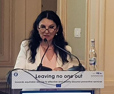 Sorina Pintea: Ministerul Sănătăţii acordă o atenţie specială combaterii şi controlului cancerului