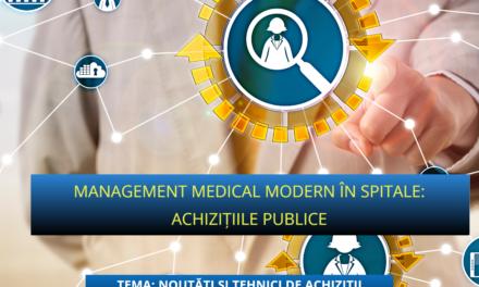 Noutăți și tehnici de achiziții publice pentru echipamente de dezinfecție cu UVC – subiectul celei mai recente întâlniri a Comunității OSC – Spitale Publice