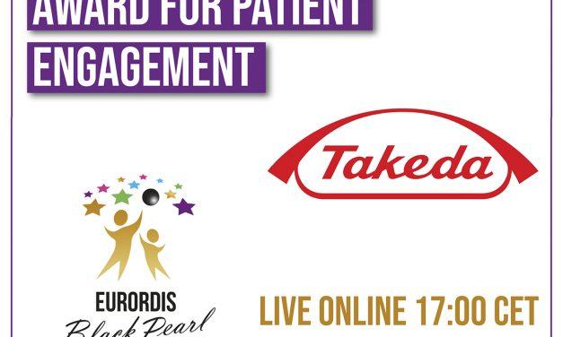 Takeda primește premiul EURORDIS 2021 Black Pearl pentru implicarea în îmbunătățirea vieții pacienților cu boli rare